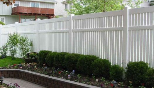 Semi Private Vinyl Fence Tampa Florida