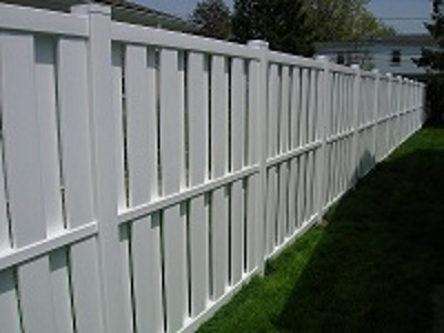 Vinyl Shadow Box Fence Tampa Florida