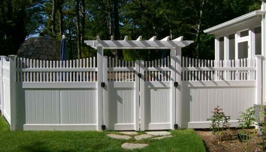 Vinyl Fence Arbor Fence With Gates