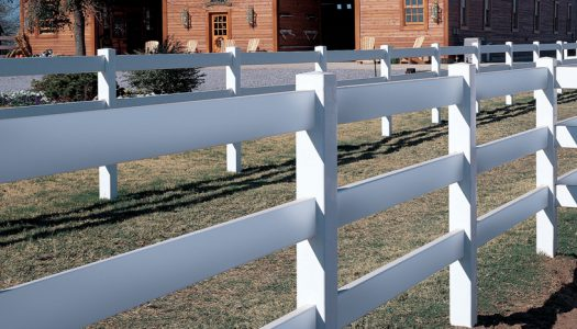 Vinyl Ranch Fencing Tampa